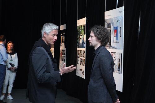 Петр Сахлина (слева) и редактор Проекта Балтии Владимир Фролов