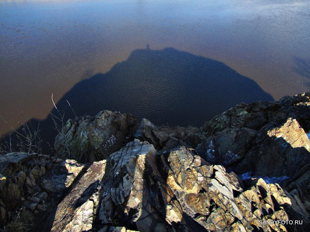 Интересный вид с Пугачёвской горы в Троицке