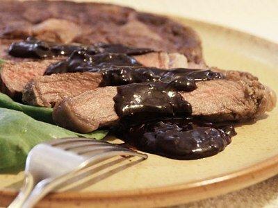 Шоколадный соус к мясу