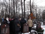 Могила отца Валентина 2014 год
