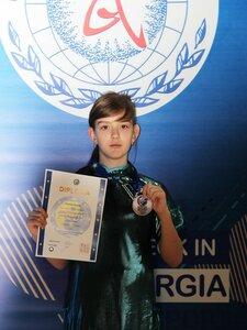«Бронзу» первенства Европы по ушу завоевала 12-летняя спортсменка из Уссурийска