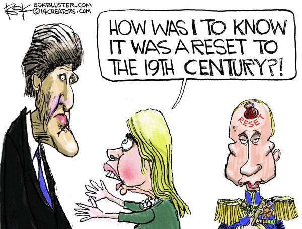 Reset to the 19th century — March 8, 2014 © Chip Bok, Creators Syndicate Inc.
