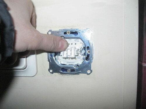 Фото 23. Установка суппорта (в сборе с механизмом) переключателя.