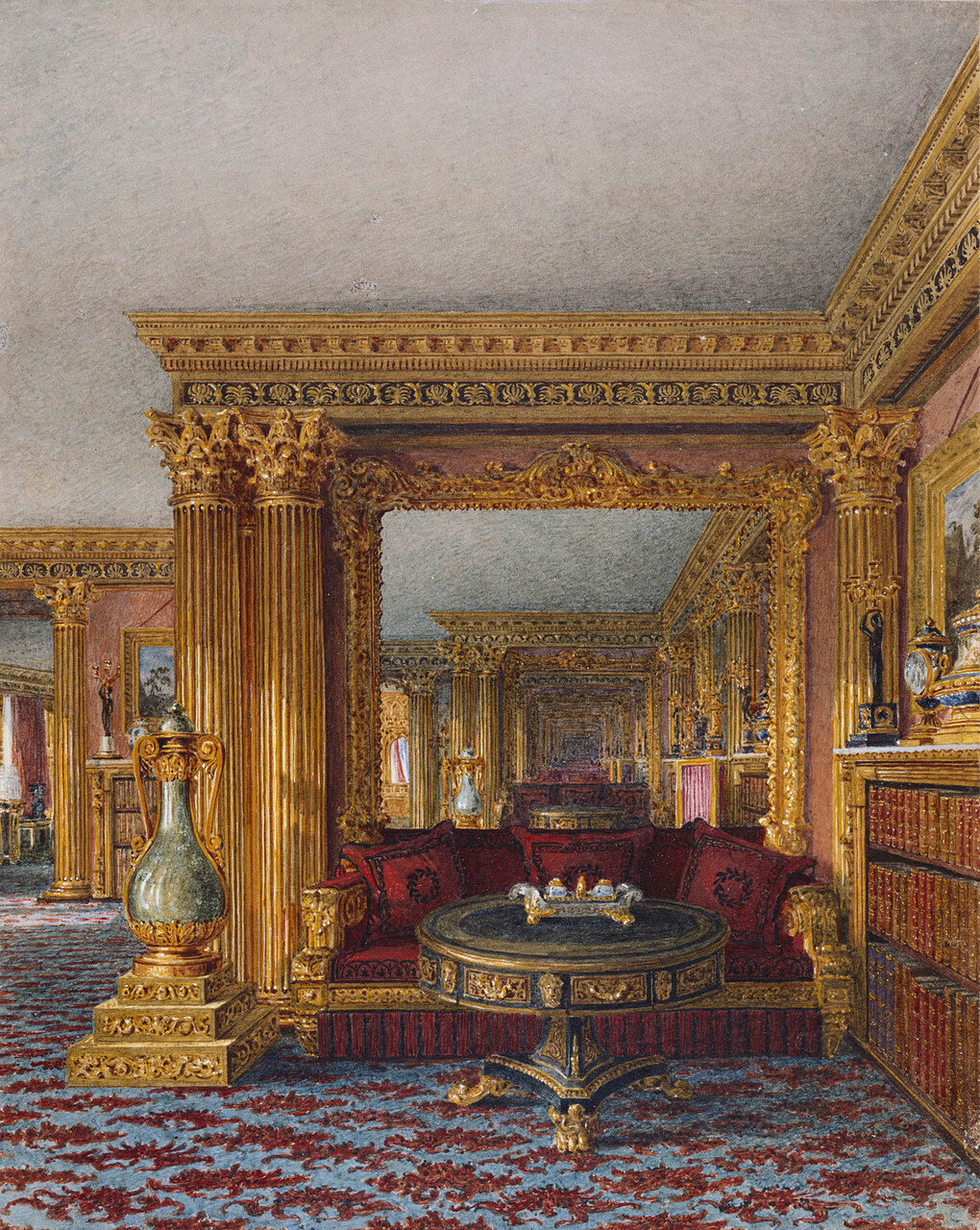 Альков, Золотой гостиной, Carlton House.