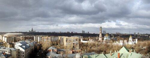 Ранняя весна в Москве
