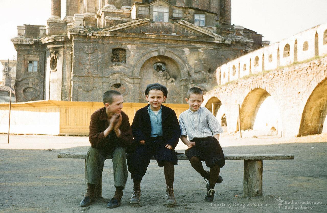 В Новоспасском монастыре