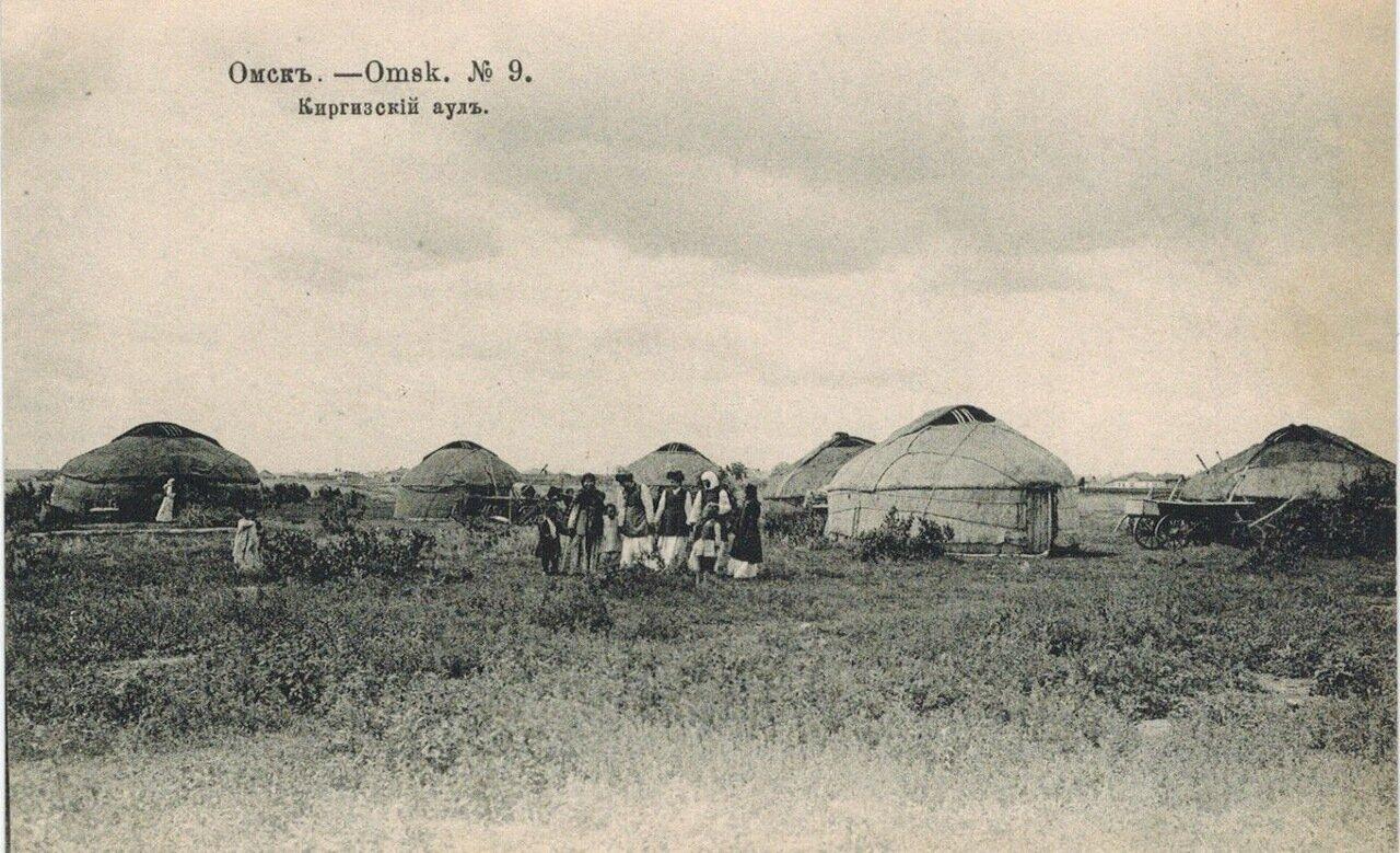Окрестности Омска. Киргизский аул