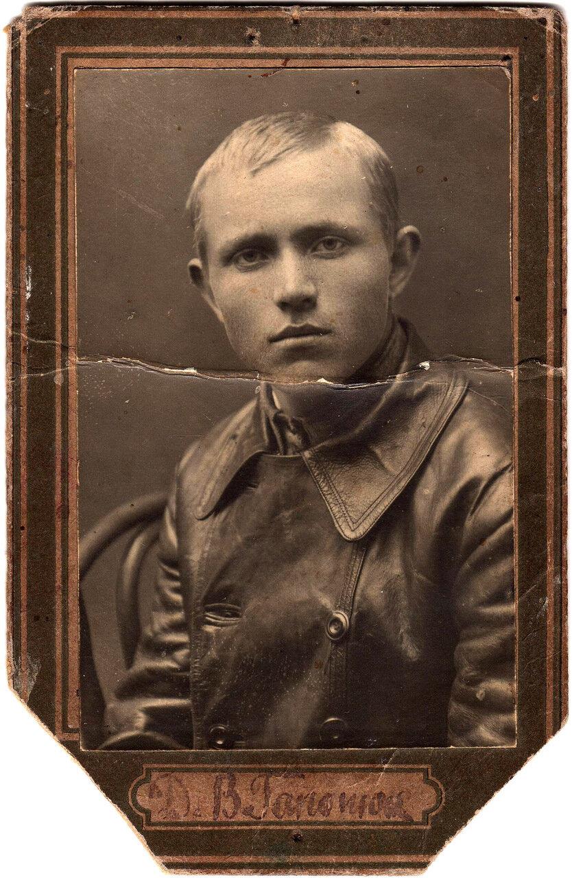 1939-1940. Д.В.Гопанюк. Начальник погранзаставы на участке Проскуров-Шепетовка