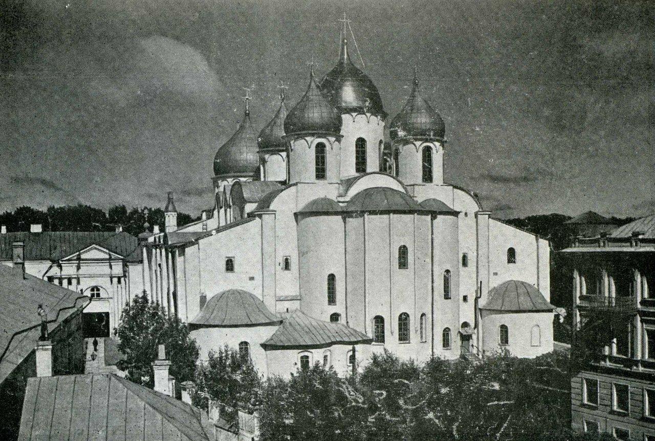 Софийский собор (восточная сторона)