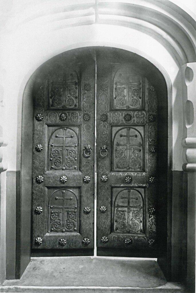 Софийский собор. Корсунские двери придела Рождества Богоматери