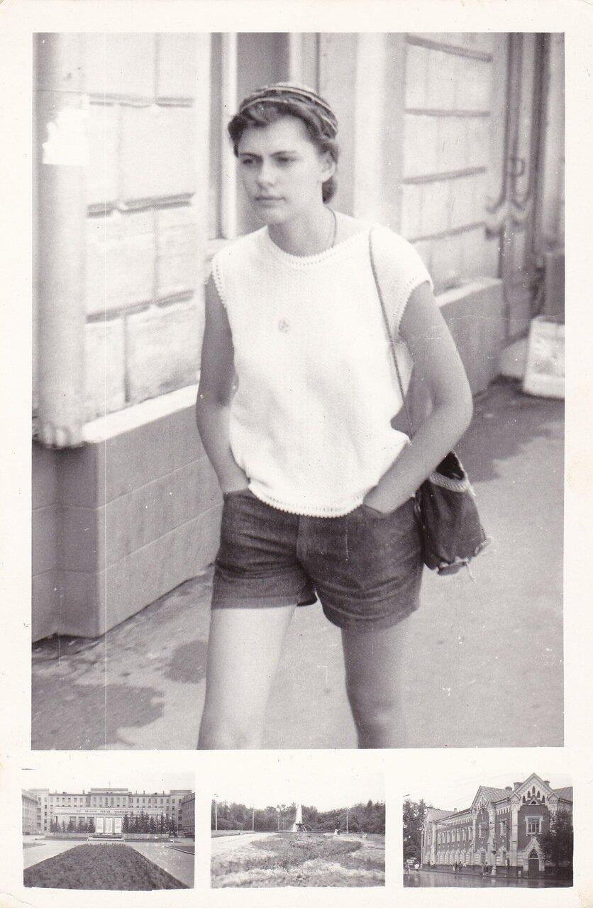 1992. Моя будущая жена в период ухаживания