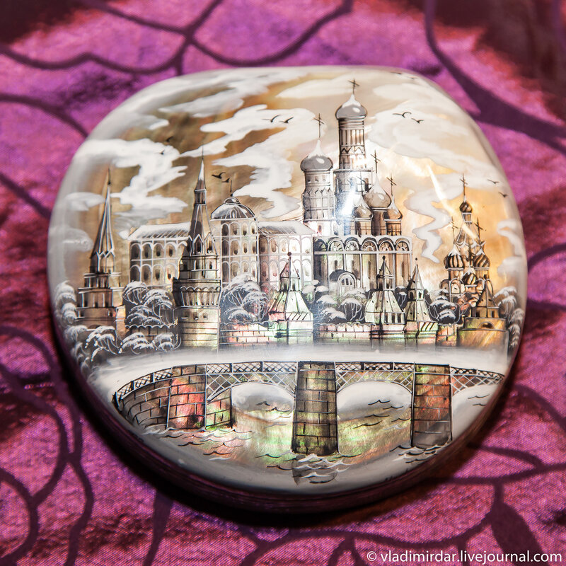 Москва. Лаковая миниатюра.