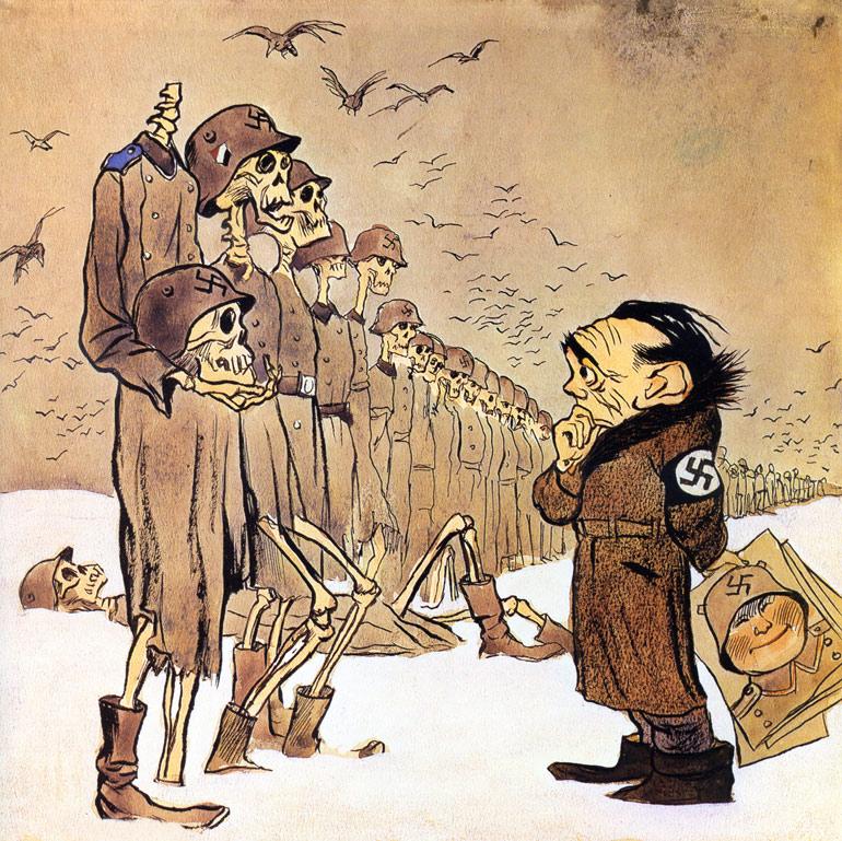 как немцы мерзли от морозов, как русские немцев били, потери немцев на Восточном фронте, русская зима