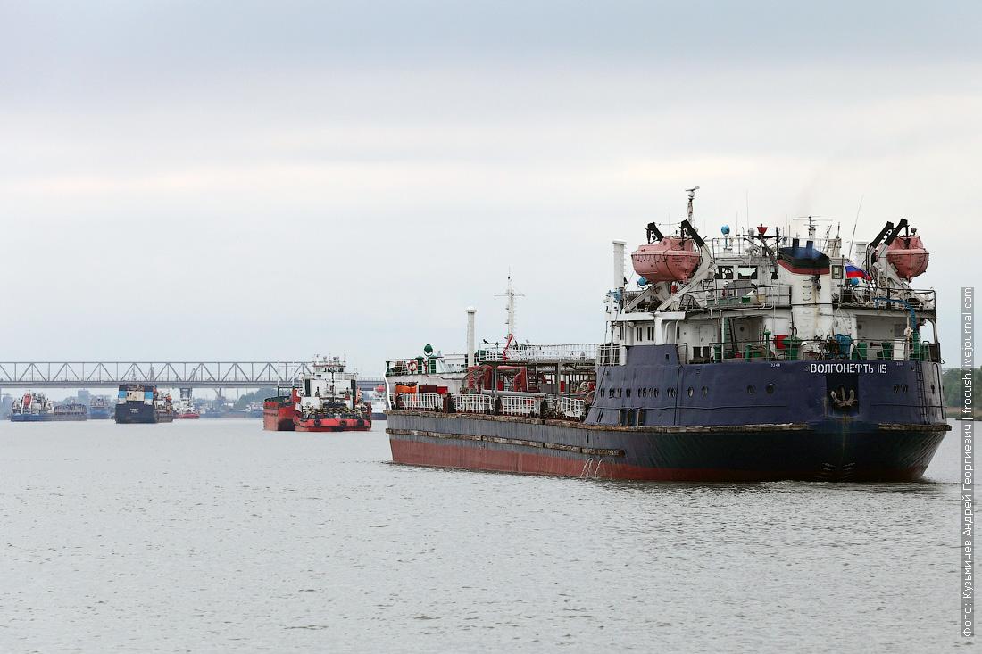 Дон. Нефтеналивной танкер «Волгонефть-115» (1974 года постройки)