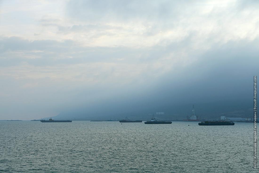 утренний берег полуострова Мангышлак