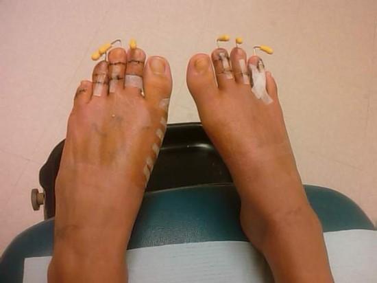 Сексуальные пальцы ног фото 27-691