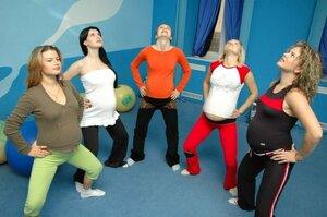 Гимнастика для будущих мам - специальные упражнения