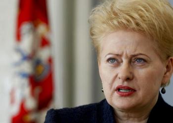 Президент Литвы: РМ – следующая цель России
