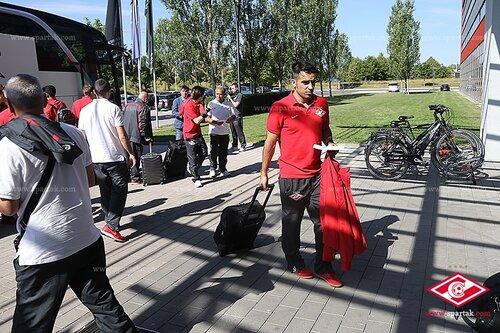 «Спартак» прибыл в Германию