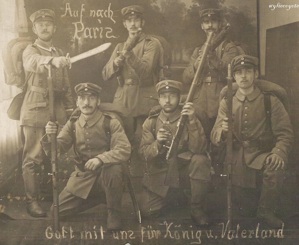 Pioniers circa 1914
