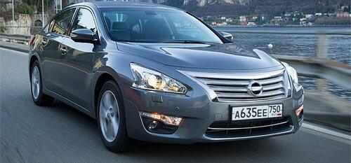 Nissan представил Teana третьего поколения