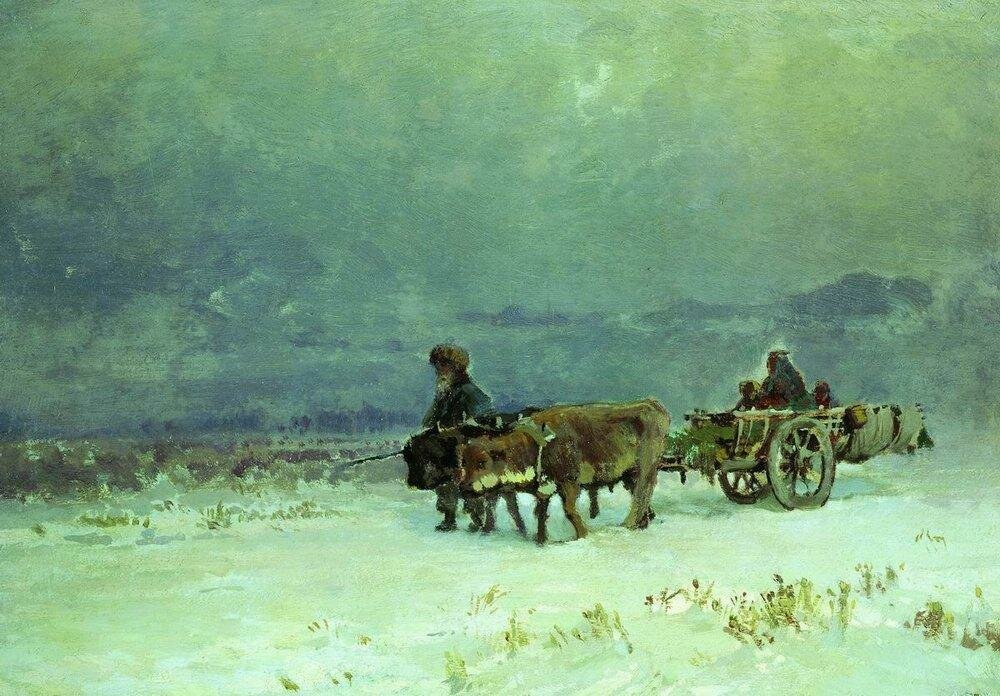 Зима в Крыму. 1871-1873.jpg