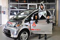 Фотосессия и тестдрайв электромобиля i-MiEV