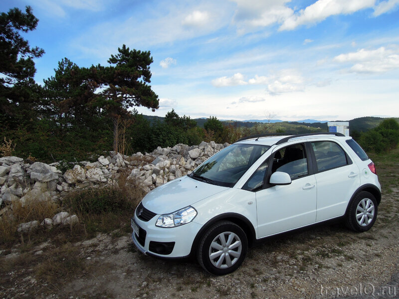 Автомобиль Suzuki SX4. Rent a car Last Minute
