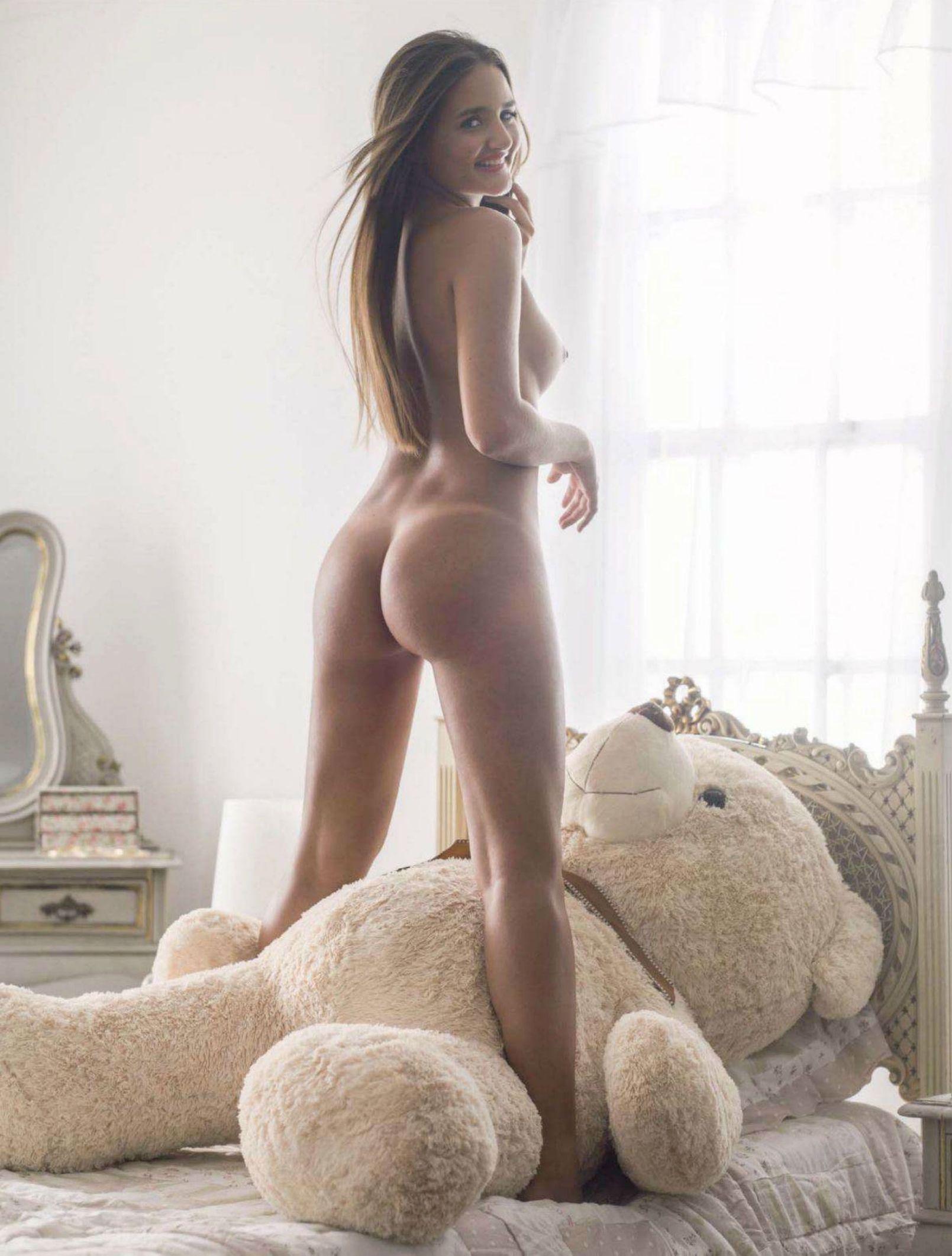Секс с плюшевым медведем 6 фотография