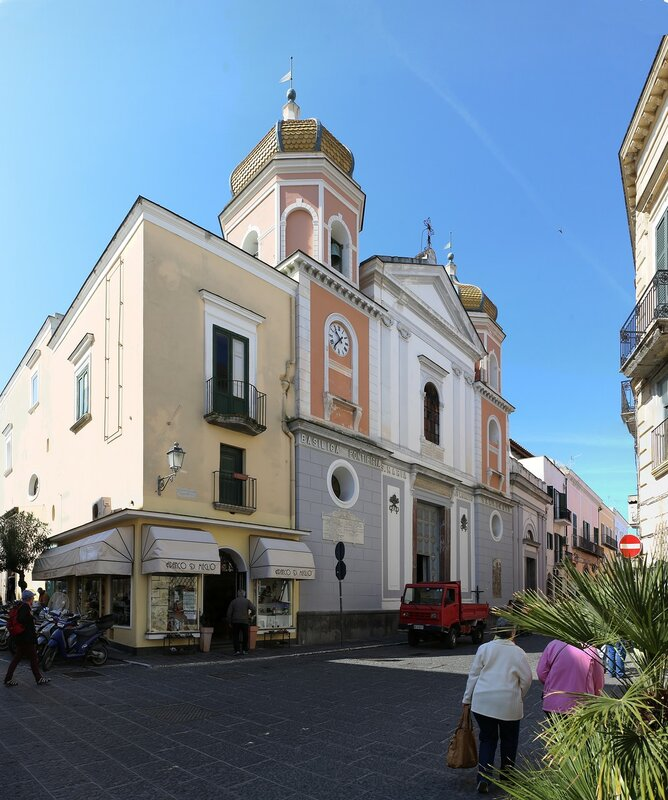 Ischia, Forio. The Church of Santa Maria di Loreto (Chiesa Santa Maria di Loreto)