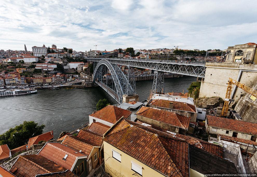 21. Мосты в Порту — это отдельный разговор.