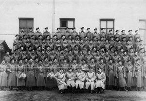 Личный состав 1-ой роты батальона (роты его величества).