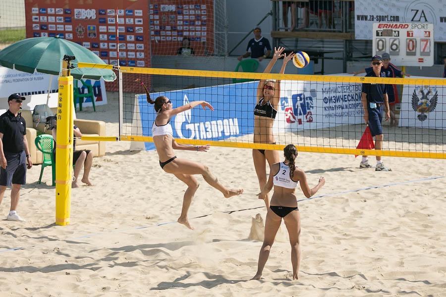 Волейбол на пляже Анапа