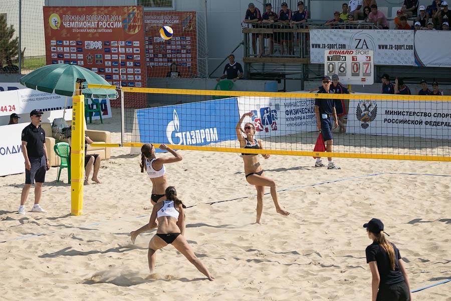 Чемпионат России по пляжному волейболу Анапа