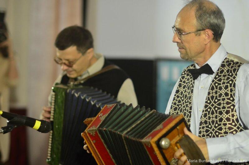 Открытие фестиваля 'Саратовские страдания', Саратов, 30 октября 2015 года