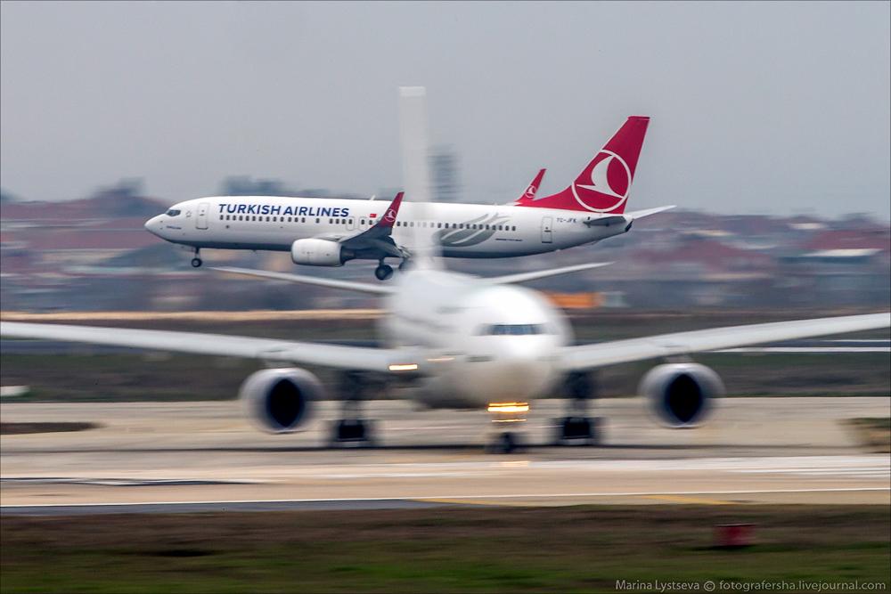Споттинг в Стамбуле