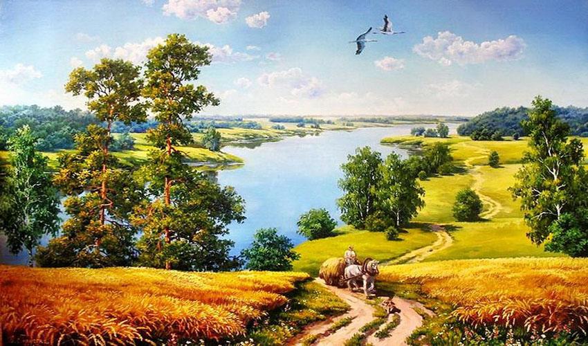 Landscape painter - Marina Gordeeva