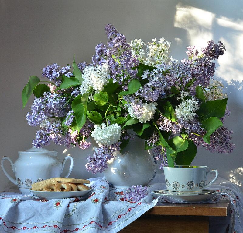 Вечерний чай с сушками