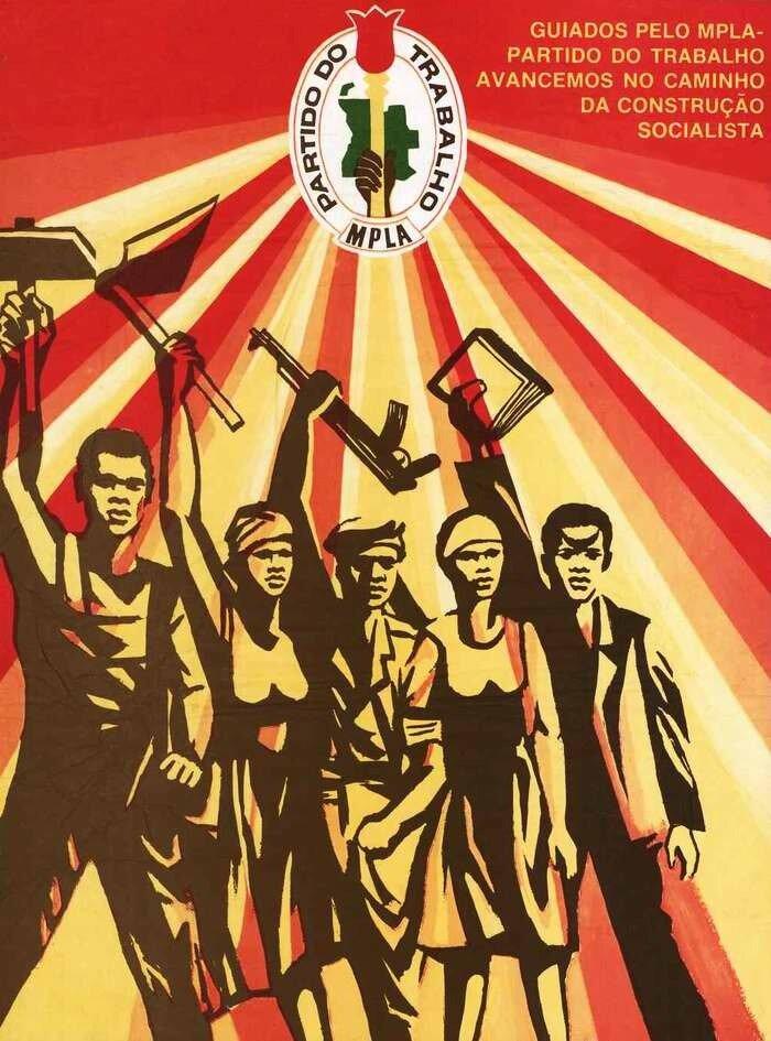Во главе с МПЛА - работа партии двигаться вперед по пути строительства социализма