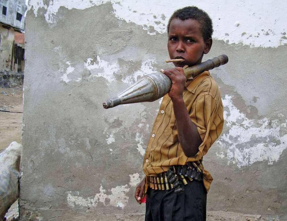 Дети солдаты - Сомали (3)