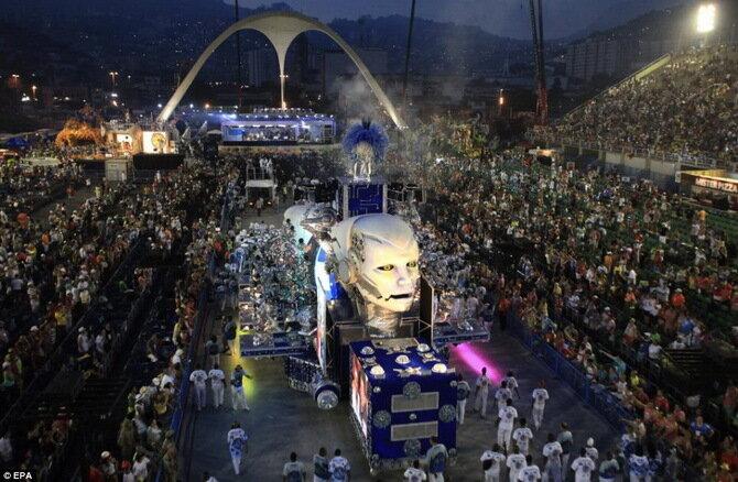 Карнавал в Рио-де-Жанейро 2014