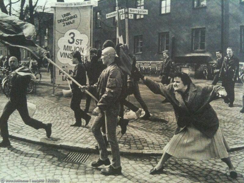 Векшё. Однажды на неонацистской манифестации, Hans Runesson, 1985