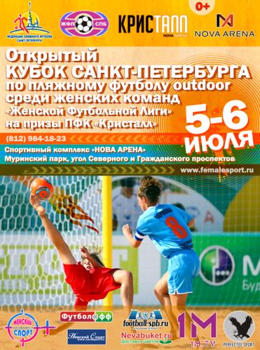 Афиша Кубка Санкт-Петербурга 2014 по пляжному футболу