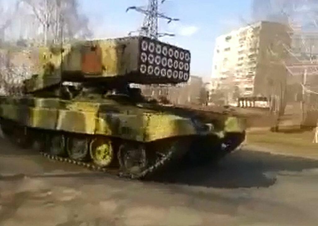 танки в Симферополе