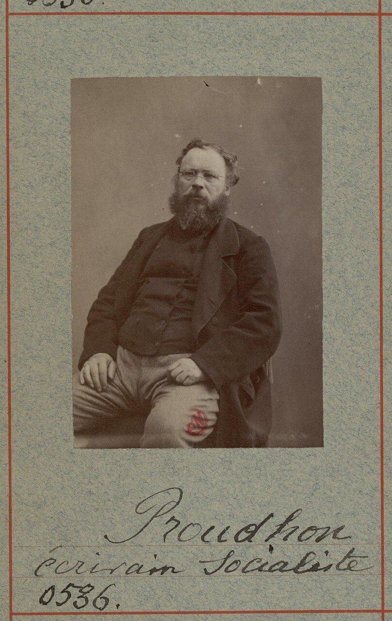 Пьер Жозеф Прудон (15 января 1809 — 19 января 1865). Французский политик, публицист, экономист
