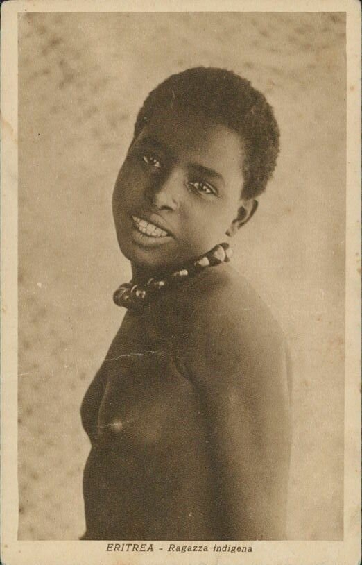 Девушка из Эритреи. 1940