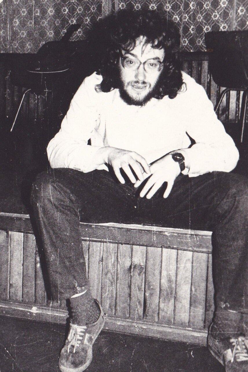 1990. Перед концертом Янки в Ангарске
