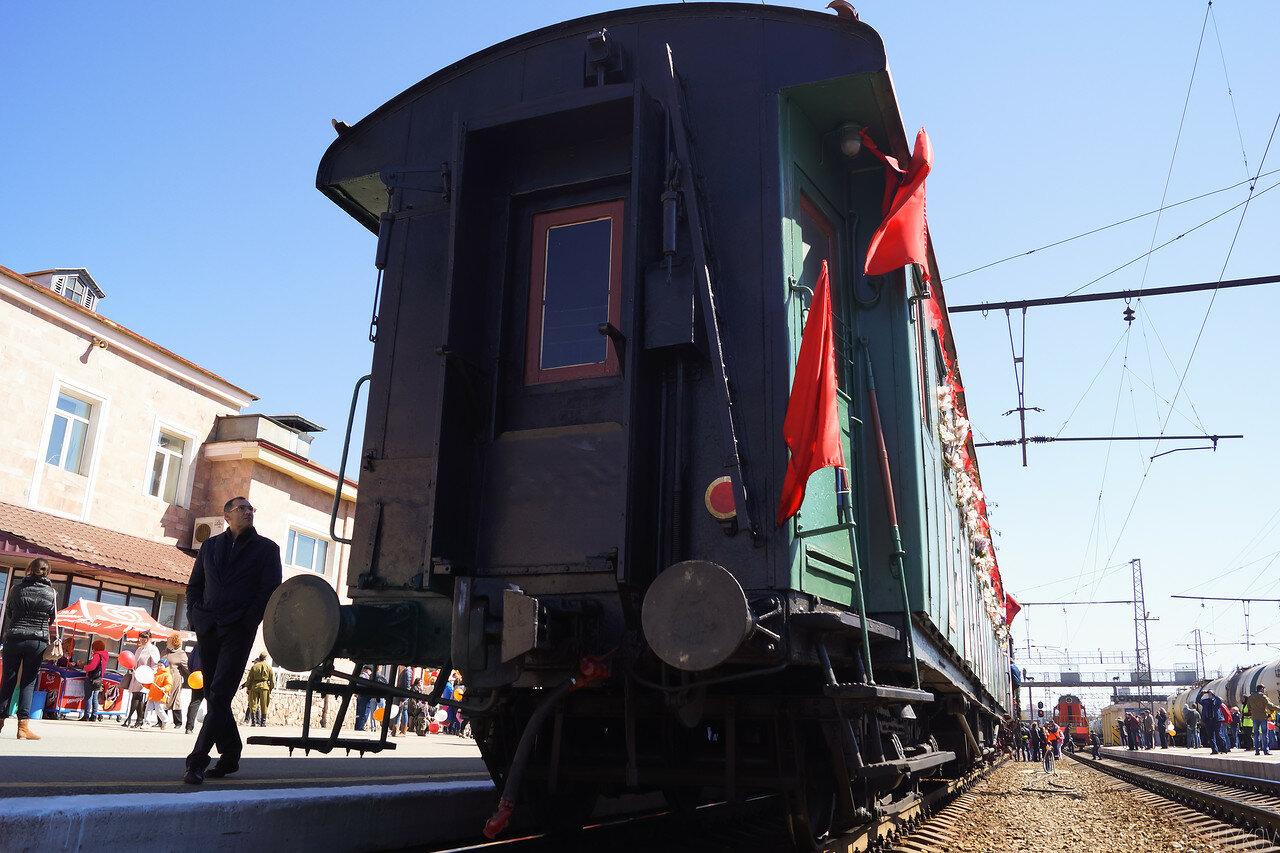 Поезд Победы 2015. Хирургический вагон