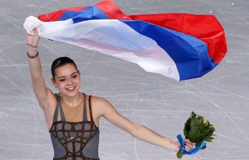 Олимпийская Чемпионка!