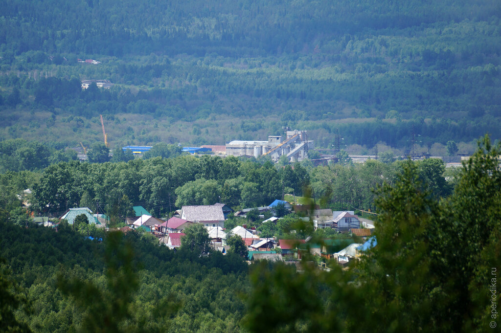 Город Златоуст. Лысая гора